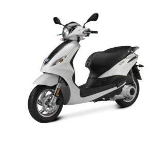 noleggio scooter zante piaggio fly 125cc