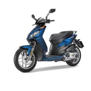 rent bike zante aprilia sportcity 50cc