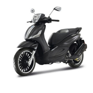 rent bike zante piaggio beverly police 300 cc