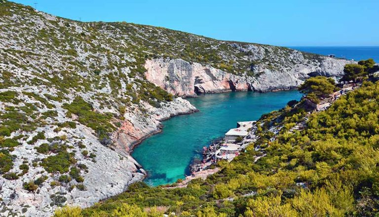 what to see in zante-port -limnionas